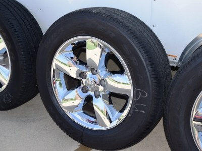 Dodge Ram 1500 20 inch chrome wheels
