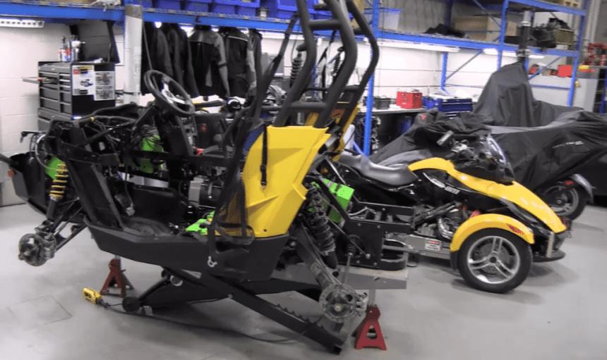 hybrid electric spyder