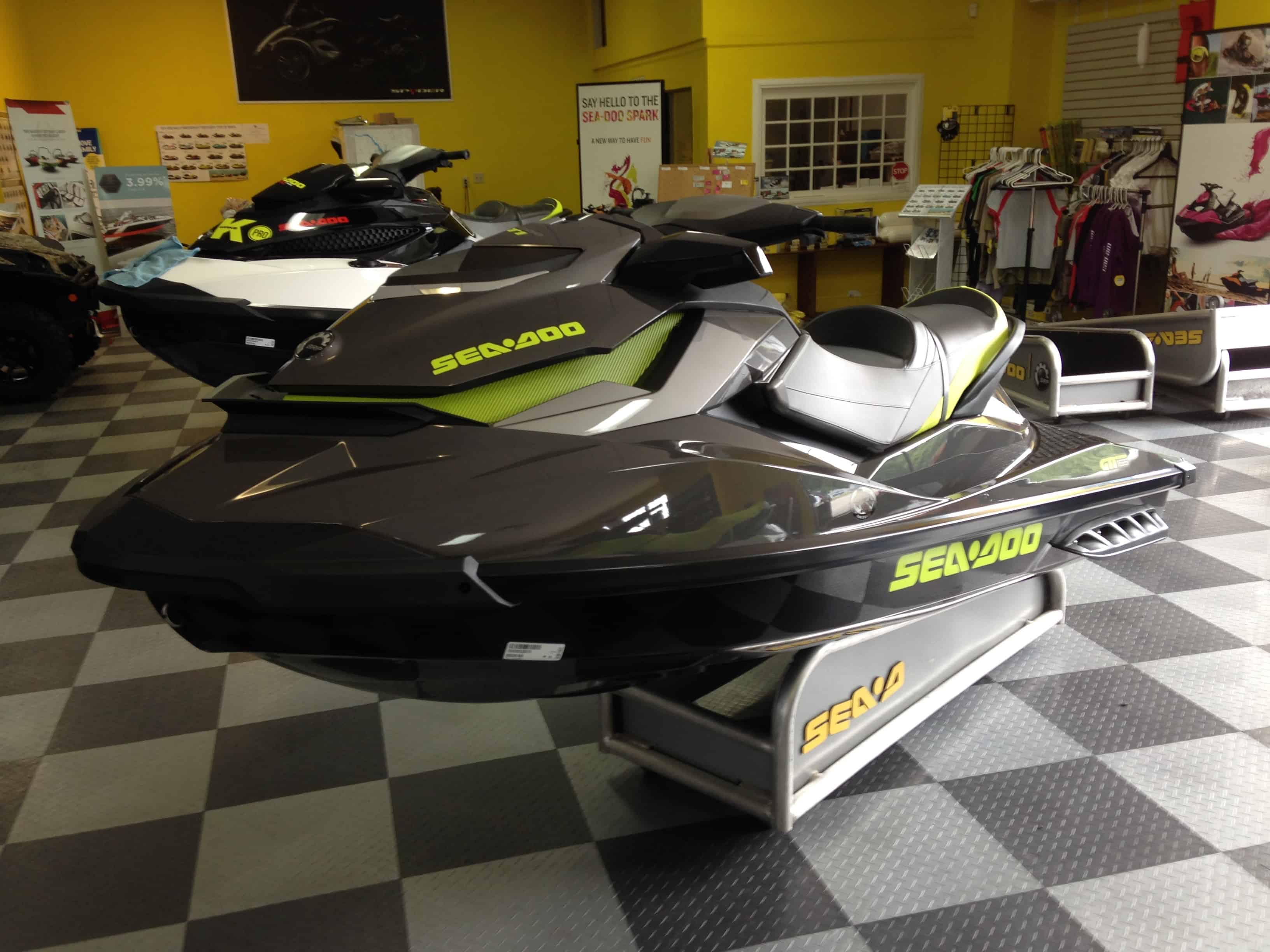 2015 Sea Doo GTI Limited 155 Review - Steven in Sales