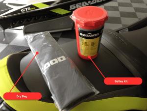 safty kit dry bag storage