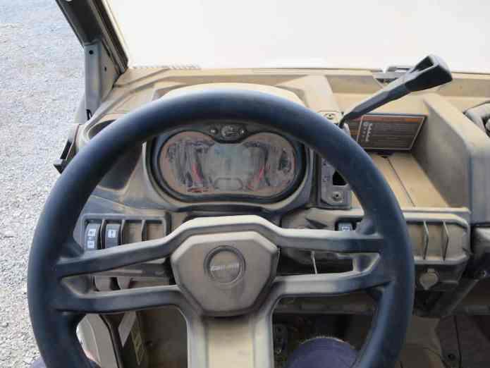 defender wheel guage cockpit drivers seat