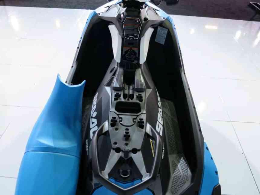 under spark seat