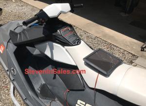 Jet ski using solar charger