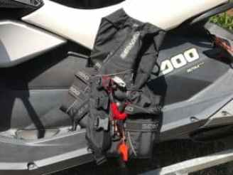 jet ski accessories life jackets black