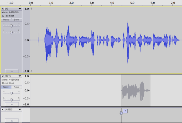 Punch and Roll editing in Audacity on Mac OSX – Steven Jay Cohen