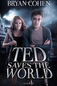 Ted Saves the World - book cover