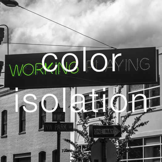 Color-Isolation