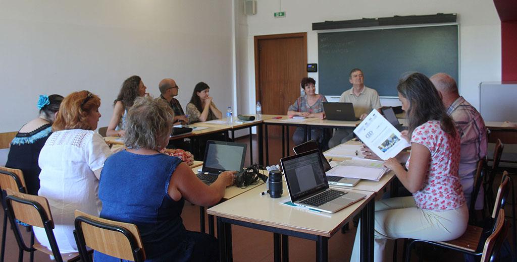 The final Open The Doors partner meeting begins today at Porto.
