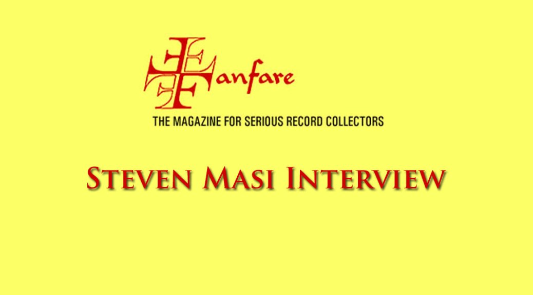 Steven Masi Classical Pianist Fanfare Interview