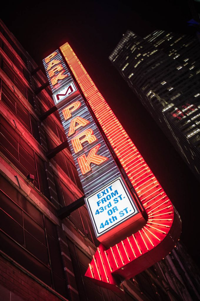 Neon Park 'M' Park Sign, New York City