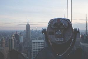 Binoculars, Rockerfeller Observation Deck