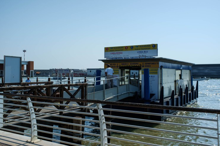 Venice Airport, Water Bus Stop
