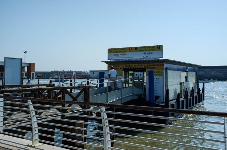 Venice Airport, Water Bus Stop