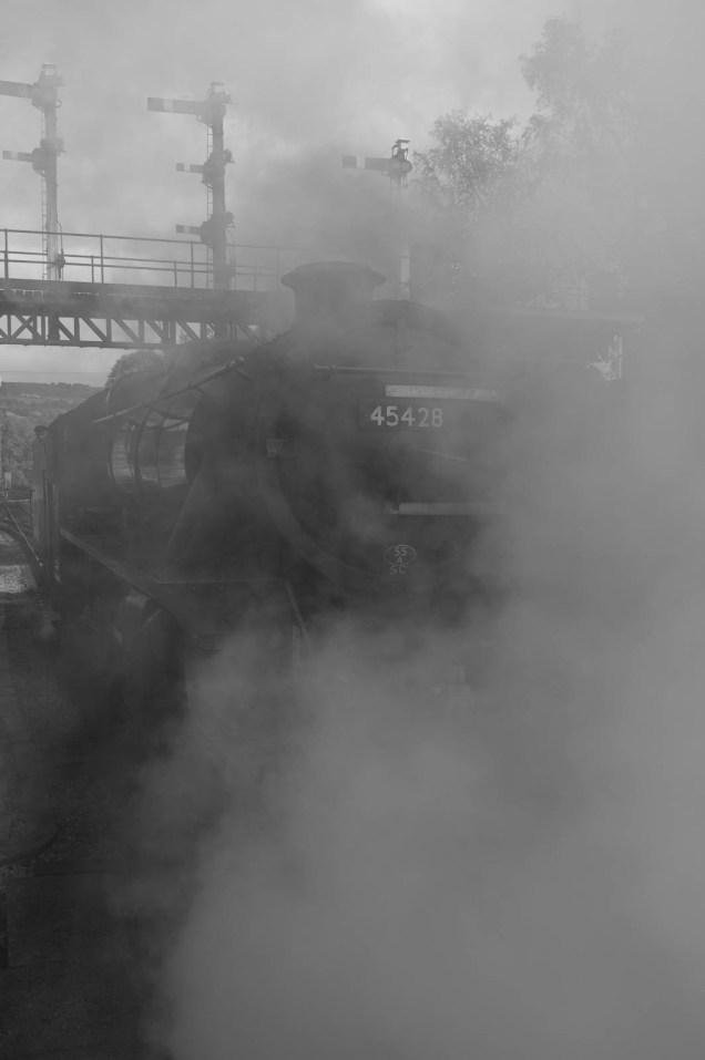 45428 'Eric Treacy', Steam Engine