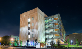 Architecture Photography of BioScience Building Exterior