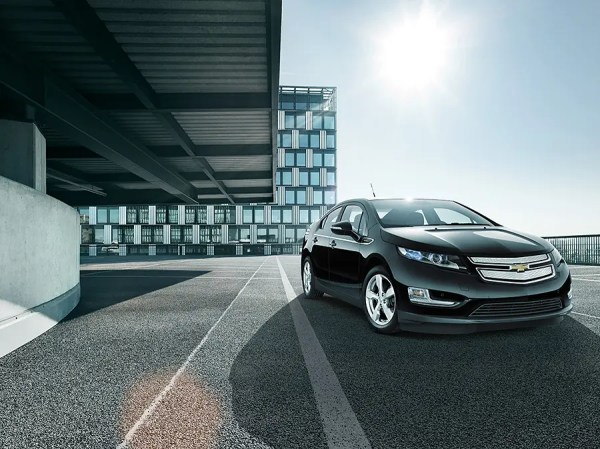 Commercial Automotive Photography of Chevrolet Volt