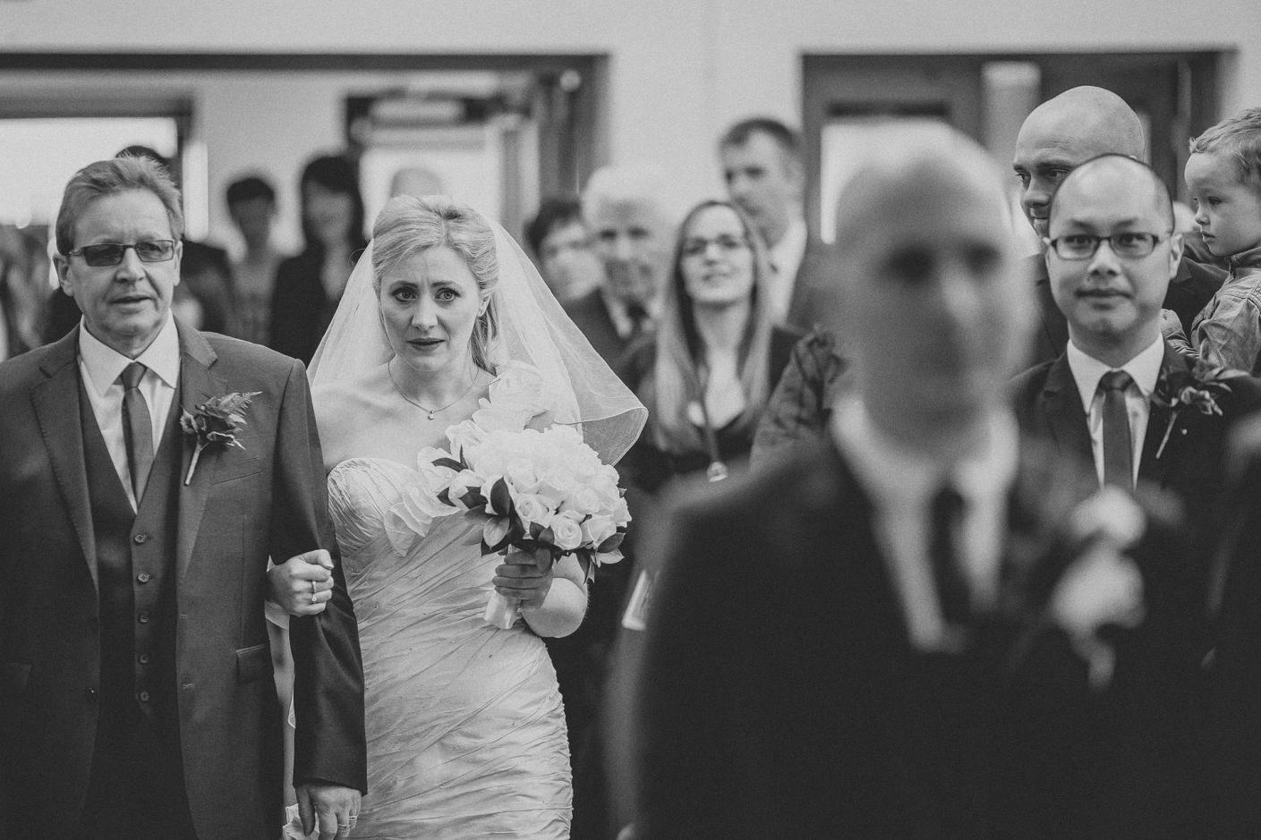 nerves down the aisle