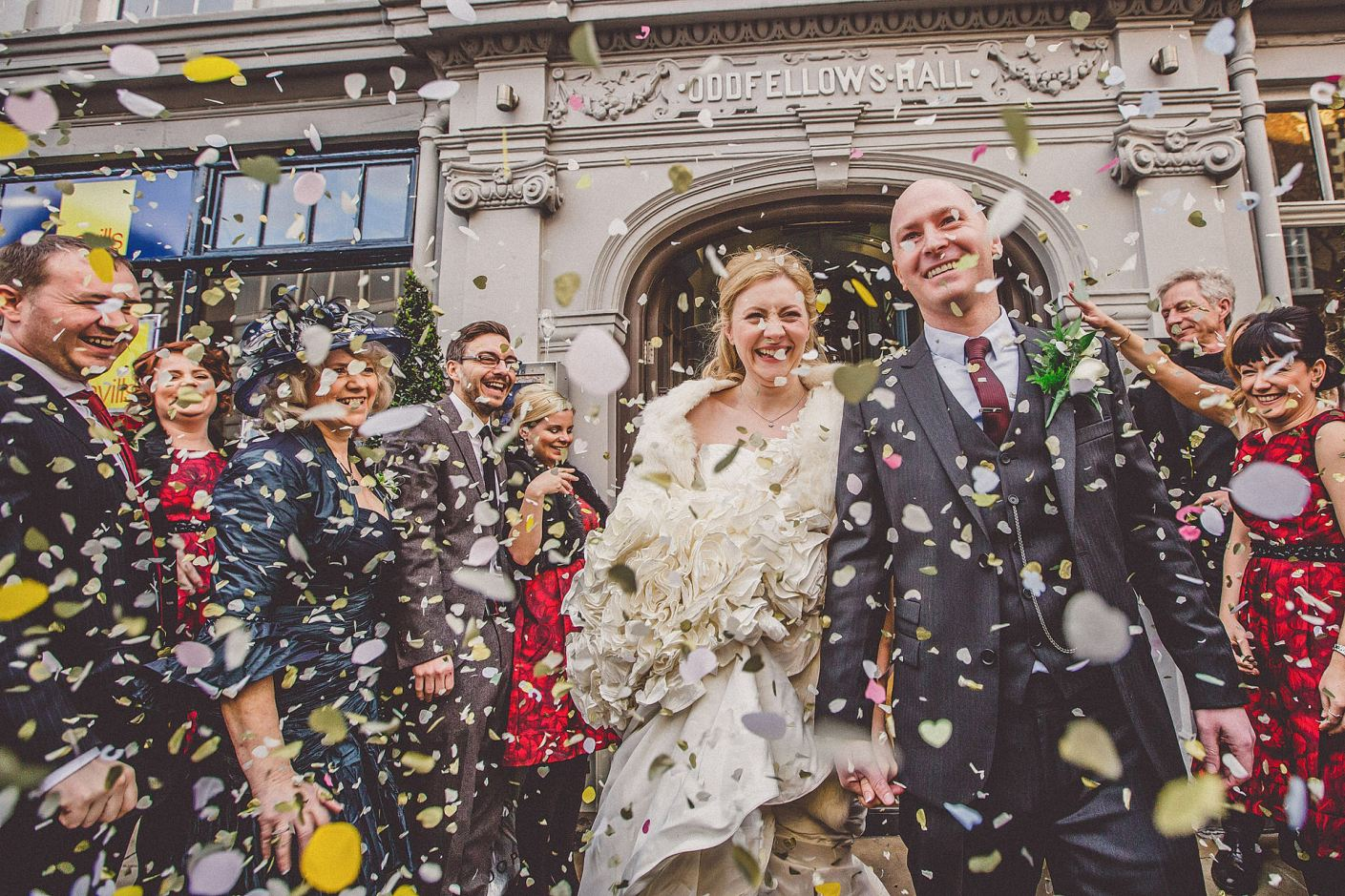 Wedding at Oddfellows Chester