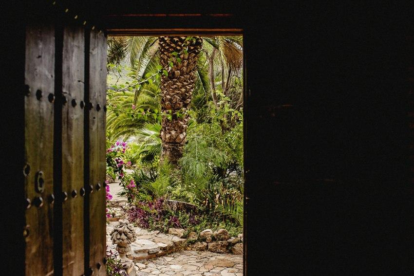 door of the casa de laila