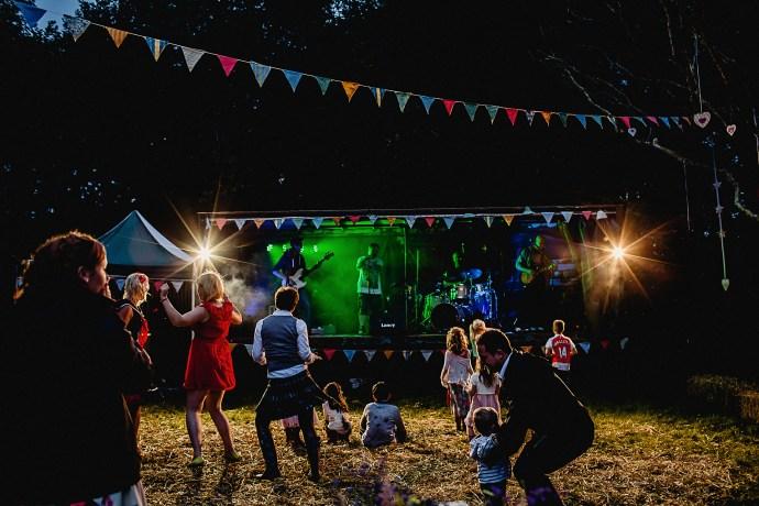 dance floor action