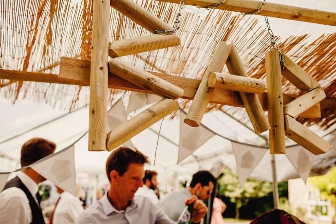 bar at the wedding