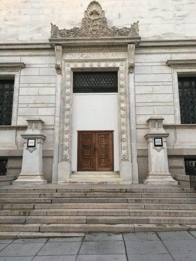 D.C. Corcoran art Gallery, Temporary doors