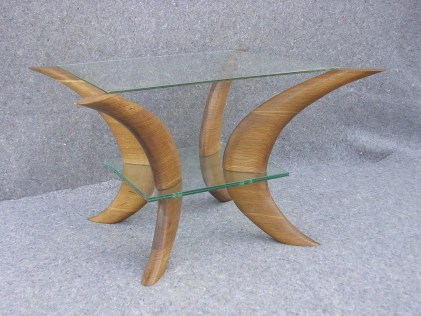 another fumed white oak table