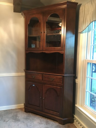 Custom Cherry Hutch