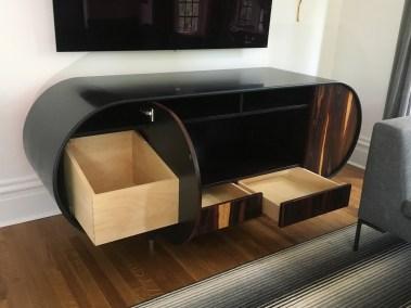 custom stereo cabinet