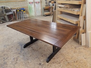 Custom Bread board ends table top