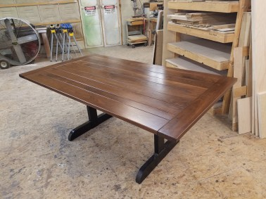 Custom Bread board ends table top