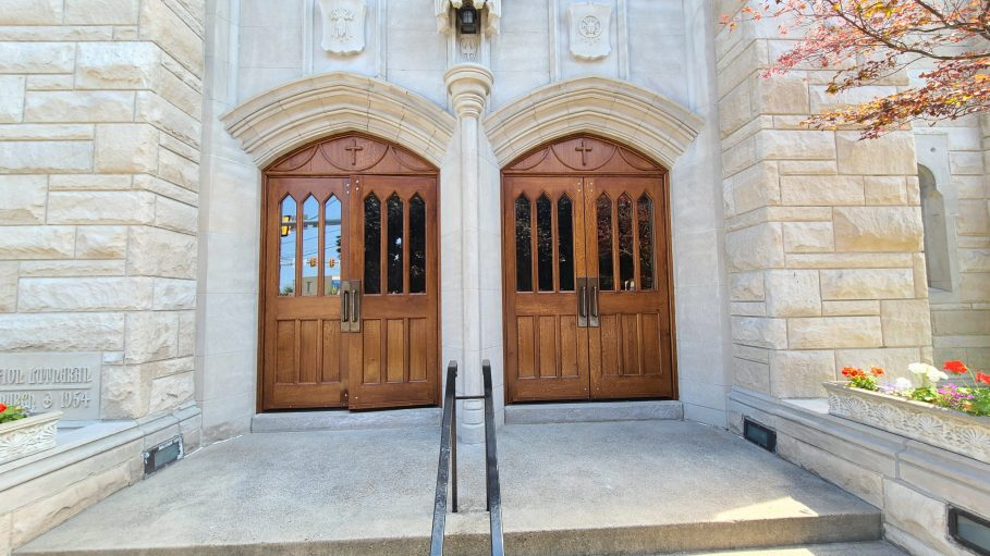exterior Qt. Sawn white oak doors