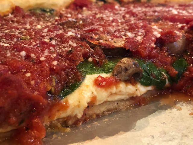 Drink Beer Eat Deep Dish Pizza Make a Difference Chicagoland Pizza Widmer Brothers Brewing Steven Shomler