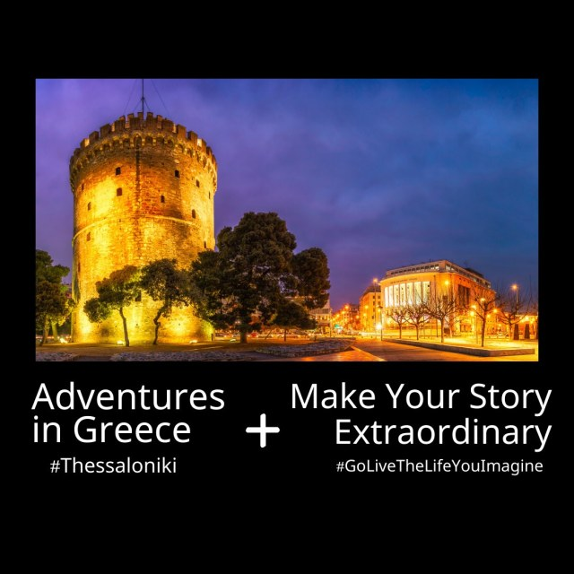 Adventures in Greece + Make Your Story Extraordinary by Steven Shomler