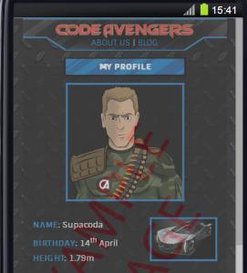 Code Avengers Screenshot