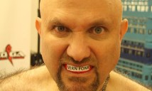 Vern Fonk with a Mouth Guard in