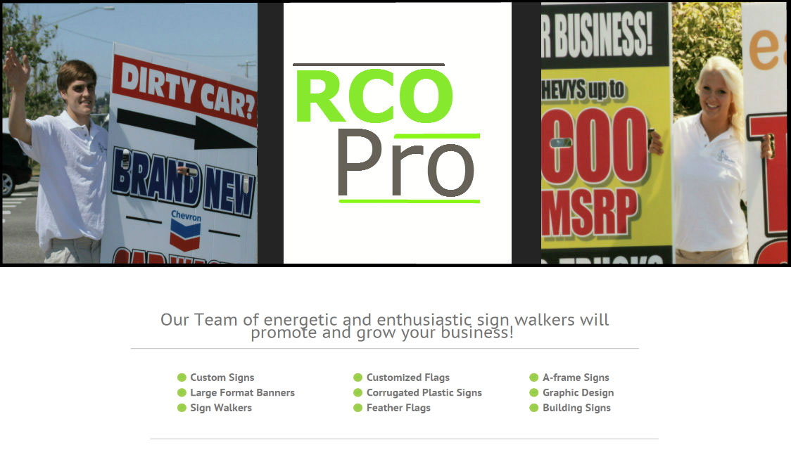 rcopro website builld and design