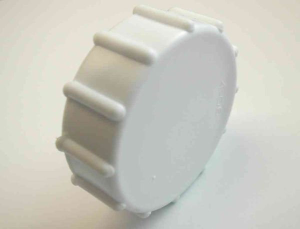 kitchen supplies store shabby chic cabinets 1 inch bsp plastic cap / blank nut with washer - stevenson ...