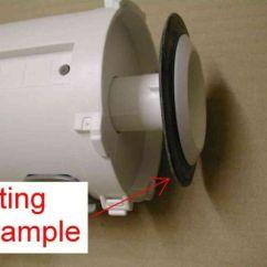 Kitchen Sink Strainer Water Filter For Siamp Optima 49 / 50 Toilet Flush Valve Outlet Seal ...