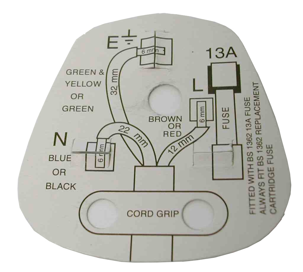 house electrical wiring diagram uk 2002 ford ranger stereo 13a plug top bs1363 stevenson plumbing and supplies