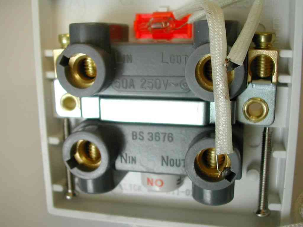 Wiring A Shower Pull Cord Switch