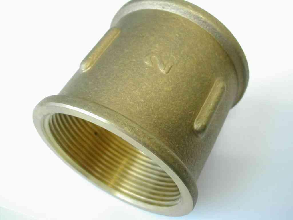 2 Inch BSP Brass Socket | Stevenson Plumbing & Electrical Supplies