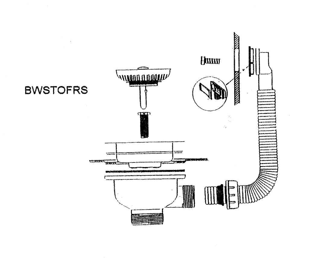 Mcalpine Basket Kitchen Sink Strainer Waste With