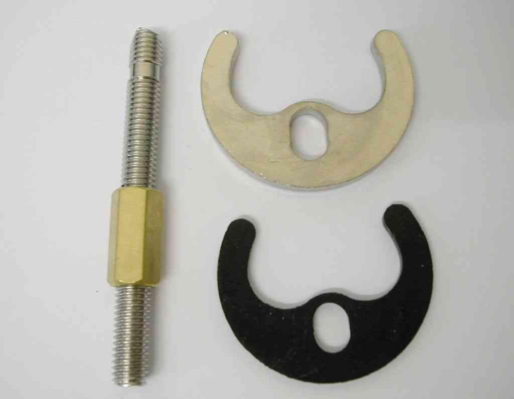 kitchen ventilation fans vintage curtains monobloc tap fixing kit 1 bolt, bracket & washer ...