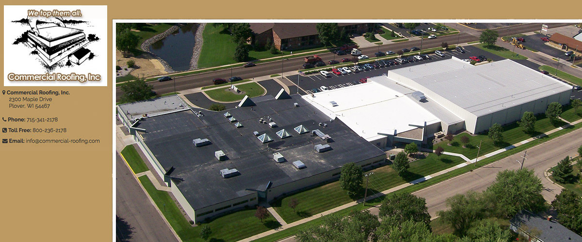 Commercial Roofing Maintenance in Central Wisconsin