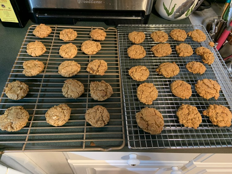 Cooled cookies