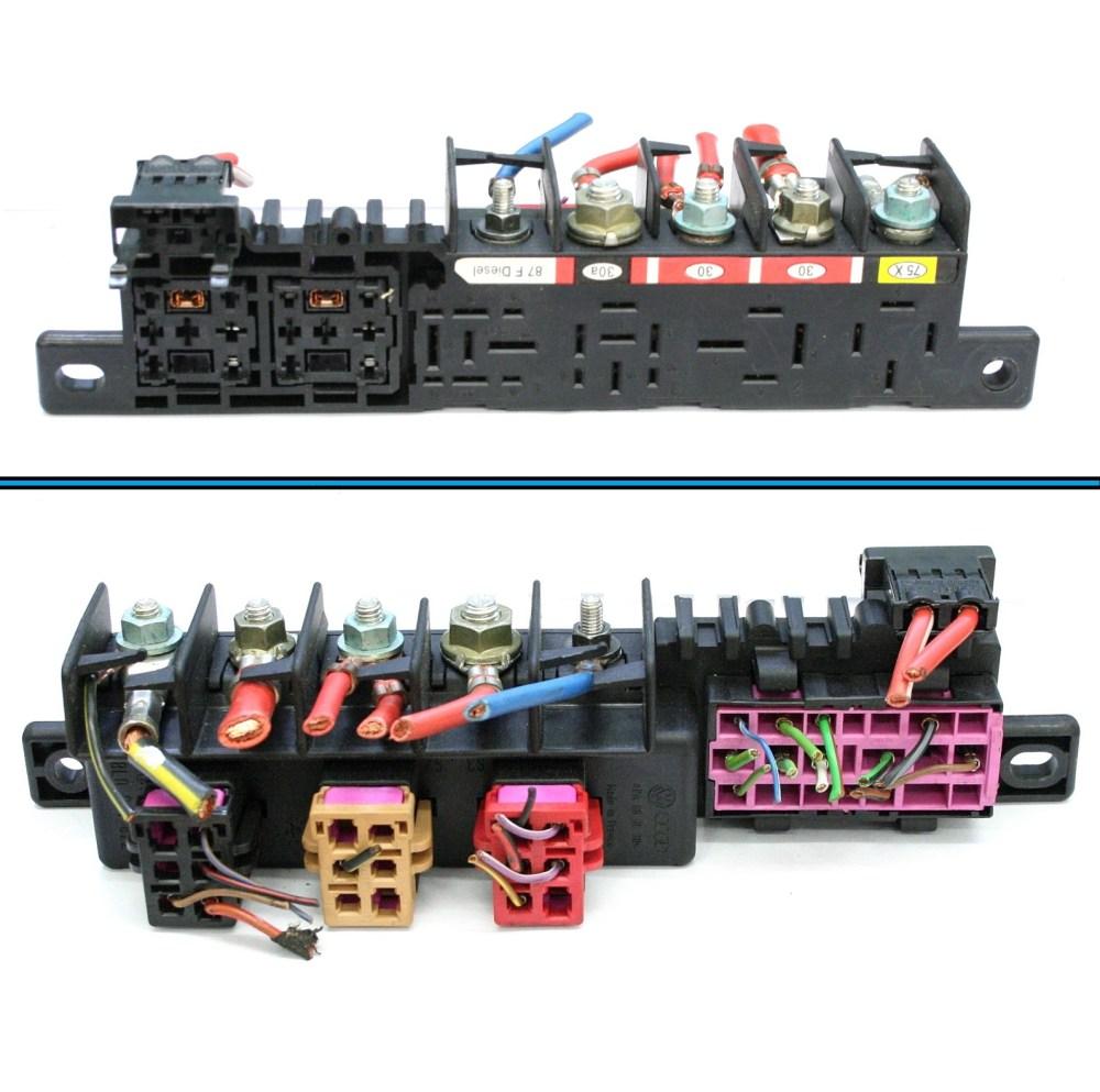 medium resolution of vw golf relay board holder fuse box 7 99