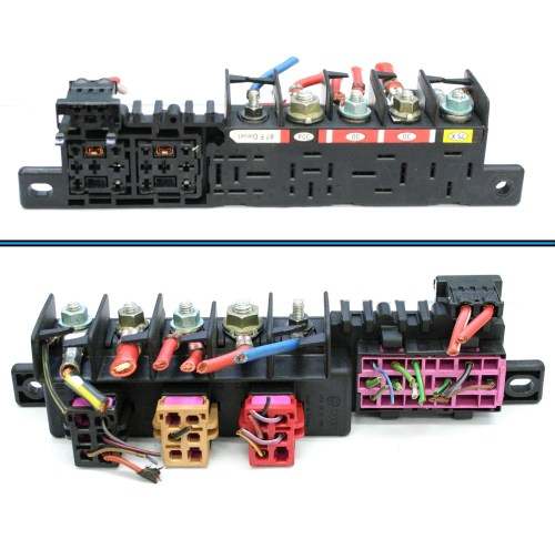 small resolution of vw golf relay board holder fuse box 7 99