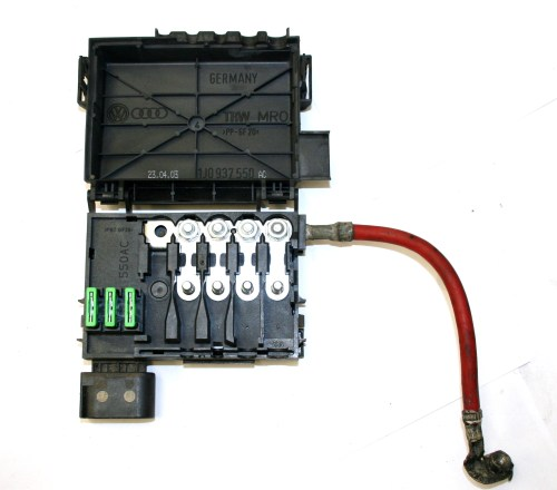 small resolution of vw fuse box on top of battery 4 wire type 1j0 937 550 ac ebay image