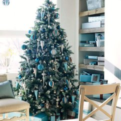 Elegant Christmas Living Room Decor Furnitures Pictures Fireplace Beautiful Wooden Beams Ceiling Rooms Decoration Ideas Interior With Gift Under